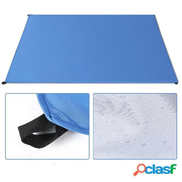 150x165cm Impermeable al aire libre cámping Estera de
