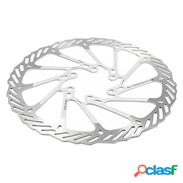 160mm mtb bicicleta disco de freno de acero inoxidable para