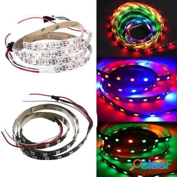 1M WS2812B 5050 RGB No-impermeable 60 Luz de Tira LED del