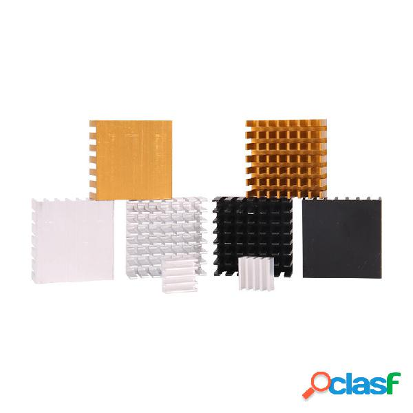 2 PCS Disipador de calor de aleación de aluminio 28 * 28 *