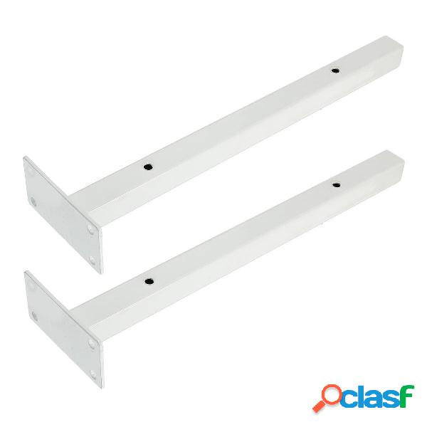 2 piezas de soporte de estante de hierro industrial de alta