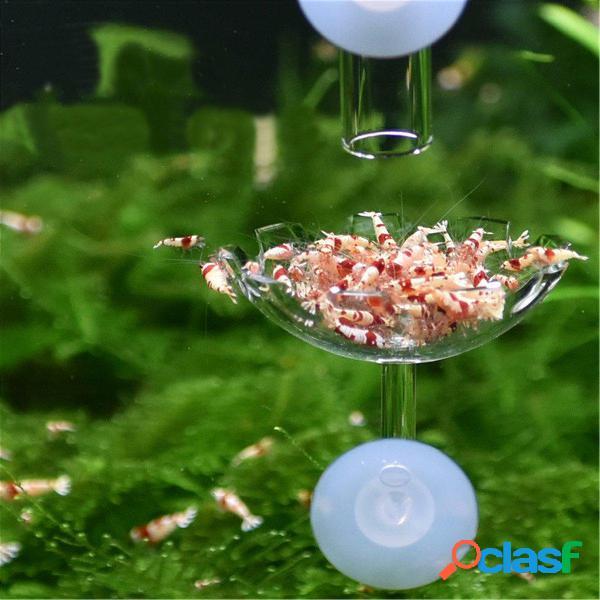 20-35cm Acuario Tanque de peces Camarones Alimentador de