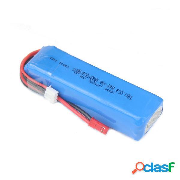 2S 7.4V 3000mAh Actualizada Batería de Lipo para Frsky