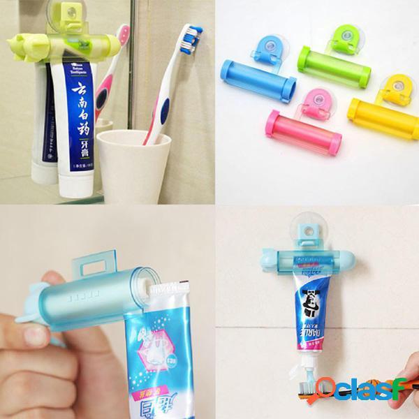 2pcs blanco pasta de dientes pasta de dientes exprimidor de