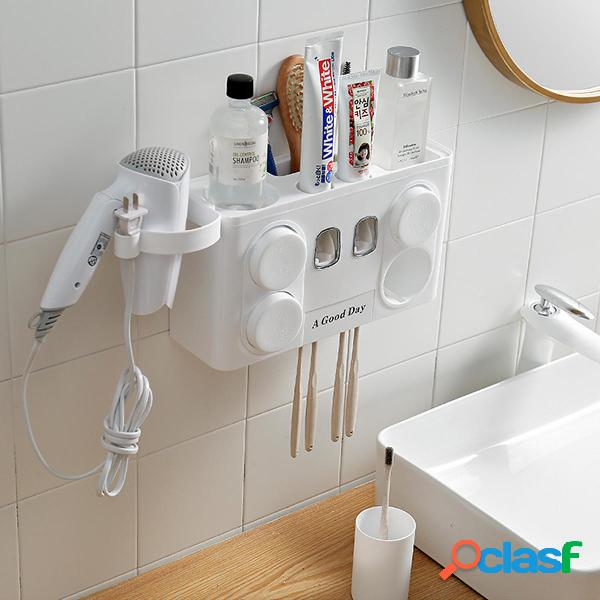4-1 Auto dispensador de pasta de dientes Cepillo de dientes