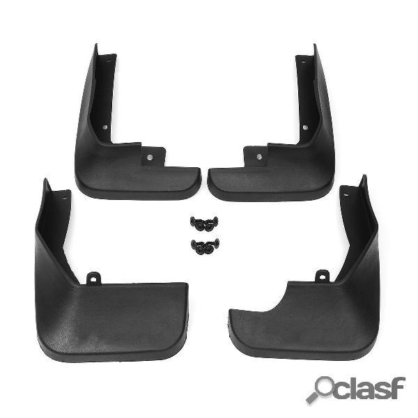 4 piezas de faldones de barro delanteros y traseros Coche