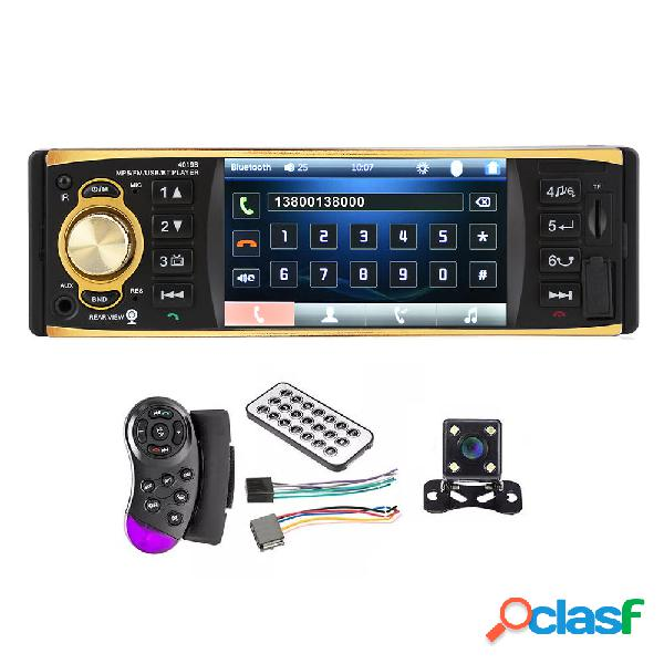 4019B 4 Inch 1080P Coche Bluetooth Reproductor MP5 Manos