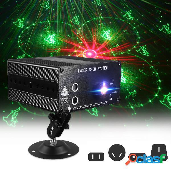 48 Patrón Láser Proyector Luz de escenario Mini luz LED
