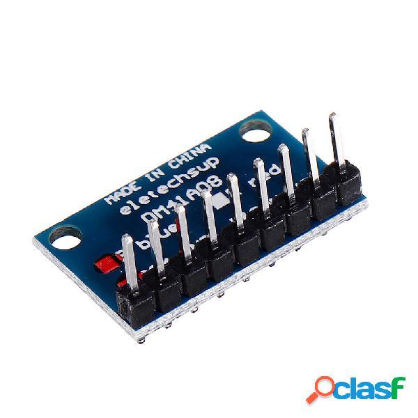 5 piezas 3,3 V 5V 8 bits azul cátodo común LED Indicador