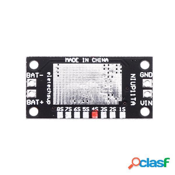 5 piezas 4S NiMH NiCd recargable Batería Cargador Módulo