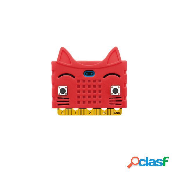 5 piezas rojo Silicona cubierta protectora para placa base