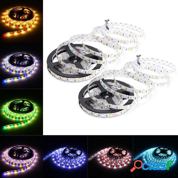 5M RGBW RGBWW SMD 5050 No impermeable LED Luz de tira