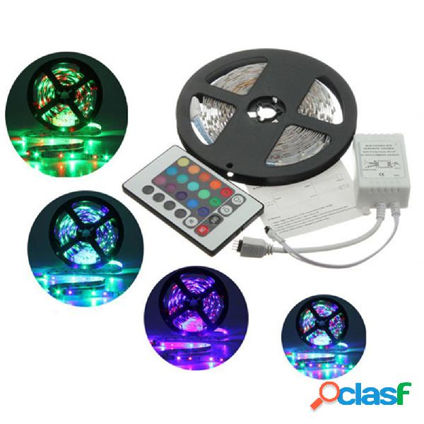 5m 3528 SMD RGB no impermeable 300 LED tira de luz 12v dc