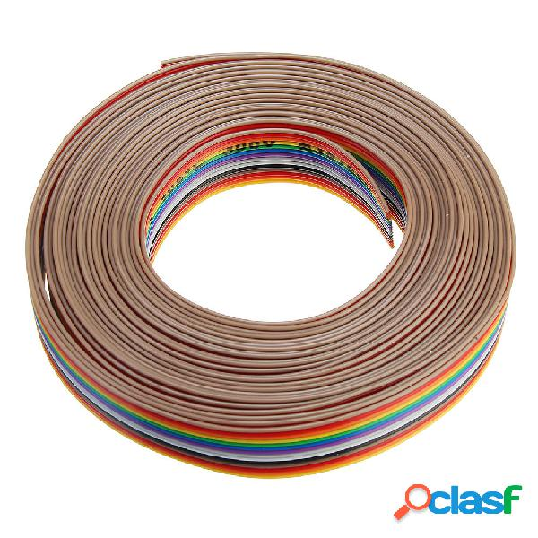 5pcs 5M 1.27mm Cable de cinta de la echada 14P Cable de