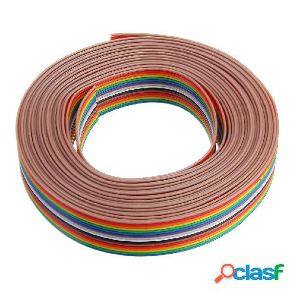 5pcs 5M 1.27mm Cable de cinta de la echada 16P Cable de
