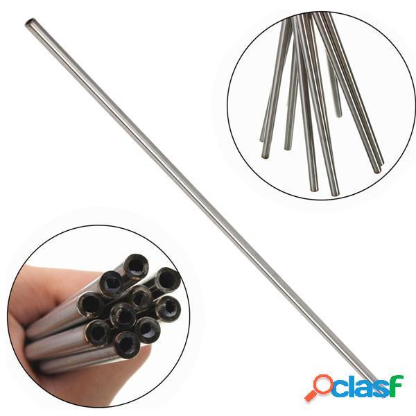 5pcs desde 10 mm x 8 mm ID acero tubos de acero inoxidable