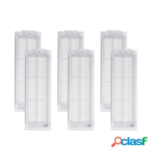 6 piezas de filtros para XIAOMI MIJIA STYJ02YM aspiradora
