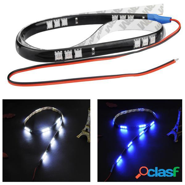 60cm 15smd LED Luz decoración auto del coche flexible de