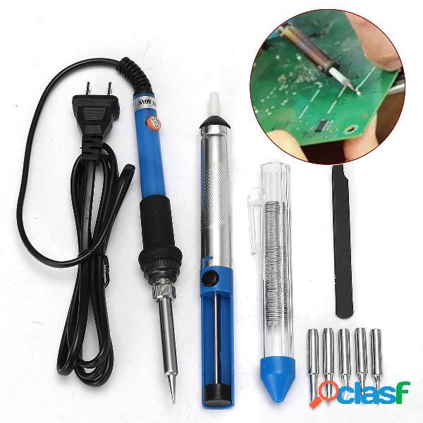 60w 110v kit de herramienta de arranque de hierro de