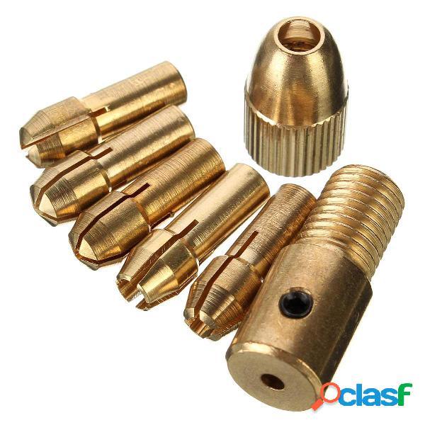 8 unids 0.5-3mm Micro Twist Taladro Chuck Set Pequeño