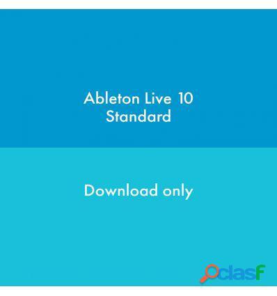 ABLETON LIVE 10 STANDARD DESDE LITE DESCARGA