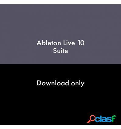 ABLETON LIVE 10 SUITE DESDE LIVE STANDARD 1-9 DESCARGA