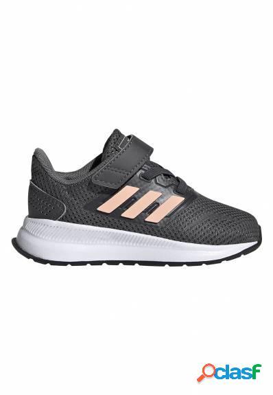 Adidas - Deportiva bebé gris runfalcon I con velcro