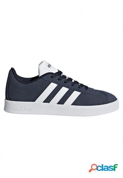 Adidas - Zapatillas casual niños marino VL Court 2.0 K