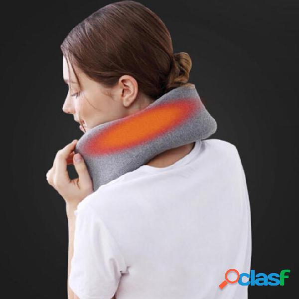 Almohada calefactora de grafeno PMA en forma de U Cuello