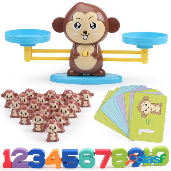 Animales Número Equilibrio Juguetes Matemáticos Juguetes