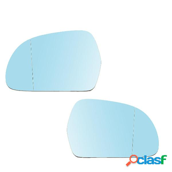Azul Izquierda Derecha Retrovisor Coche Cristal de Espejo