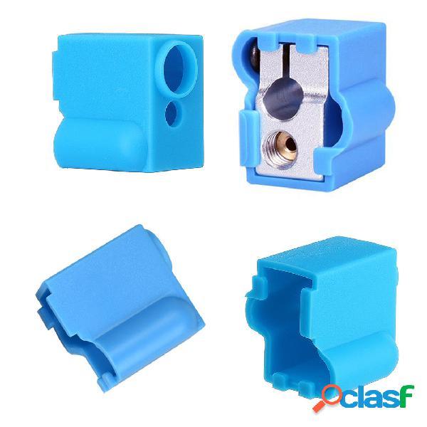 Azul Silicona bloque de calentamiento del volcán Caso