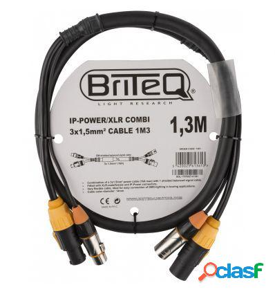 BRITEQ IP-POWER/XLR 3X 1.5MM² 1,3M