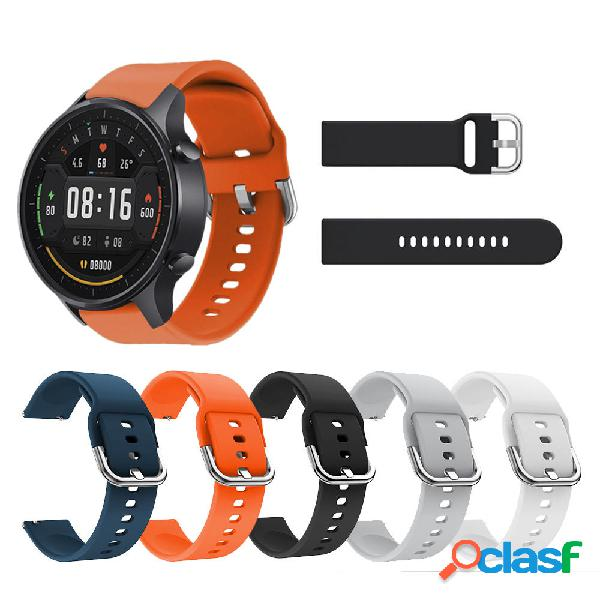 Bakeey 22mm Pure Soft Silicona Reloj Banda Reemplazo de