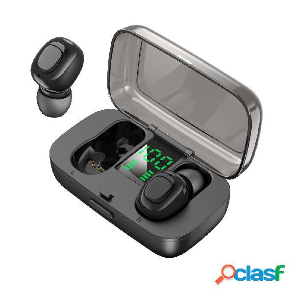 Bakeey TWS Bluetooth inalámbrico 5.0 Auricular Estéreo 6D