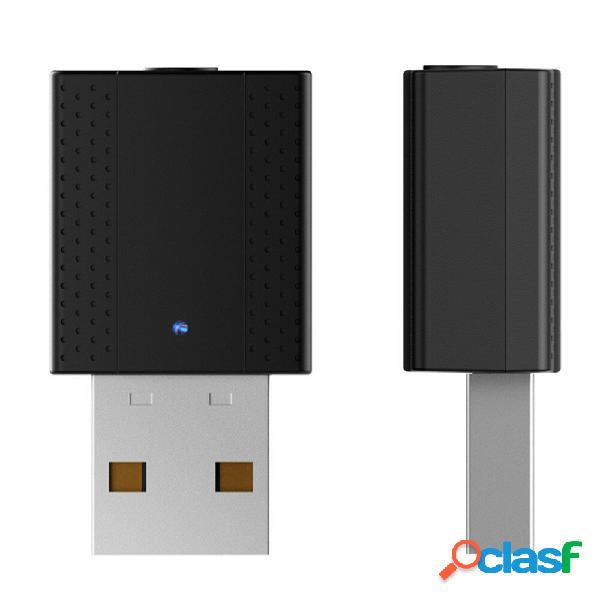 Bakeey Transmisor portátil Bluetooth 2 en 1 USB 5.0