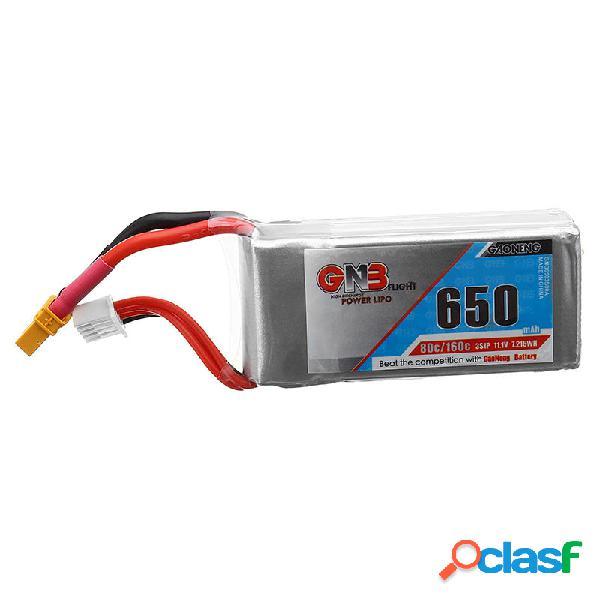 Batería de Lipo Gaoneng GNB 11.1V 650mAh 80C/160C 3S
