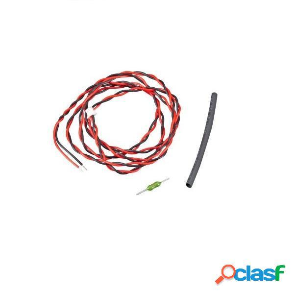 Cable de retorno de detección de voltaje externo para