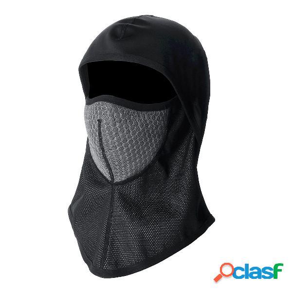Cara de balaclava completa Mascara Moto Ciclismo Impermeable