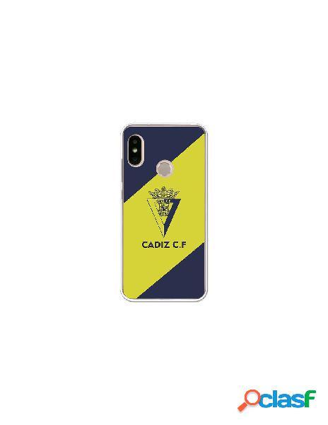 Carcasa Oficial Cádiz azul y amarillo Xiaomi Mi A2 Lite