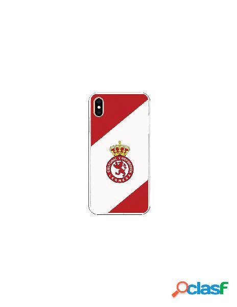 Carcasa Oficial Cultural y Deportiva Leonesa bicolor iPhone