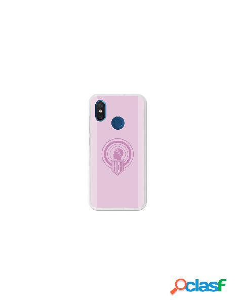 Carcasa Oficial Hércules rosa Xiaomi Mi 8
