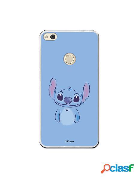 Carcasa Oficial Lilo y Stitch Azul Huawei P8 Lite 2017