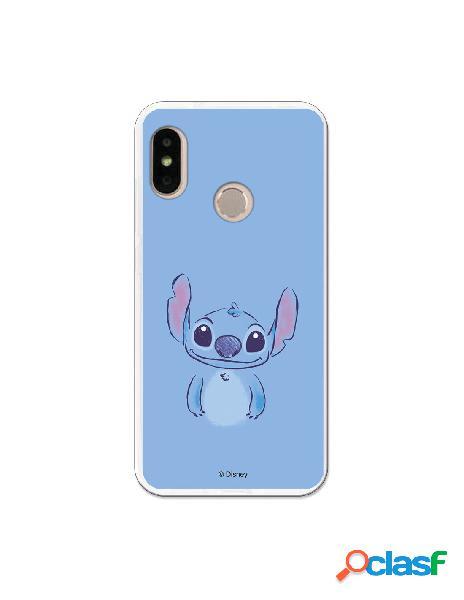 Carcasa Oficial Lilo y Stitch Azul Xiaomi Mi A2 Lite