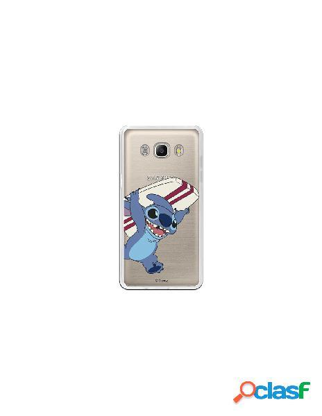 Carcasa Oficial Lilo y Stitch surf Samsung Galaxy J5 2016