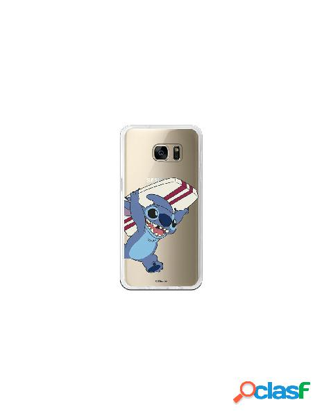 Carcasa Oficial Lilo y Stitch surf Samsung Galaxy S7 Edge