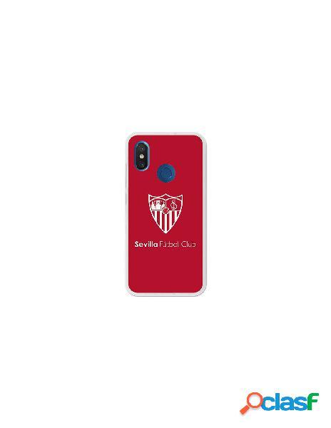 Carcasa Oficial Sevilla FC monocromo para Xiaomi Mi 8