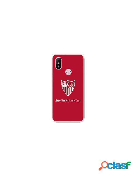 Carcasa Oficial Sevilla FC monocromo para Xiaomi Mi A2