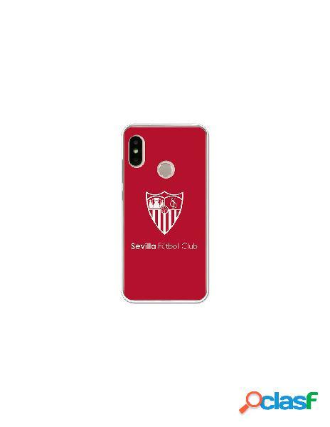 Carcasa Oficial Sevilla FC monocromo para Xiaomi Mi A2 Lite