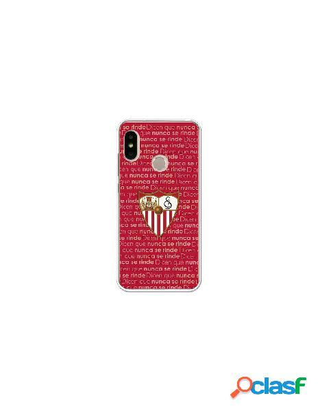 Carcasa Oficial Sevilla FC nunca se rinde para Xiaomi Mi A2